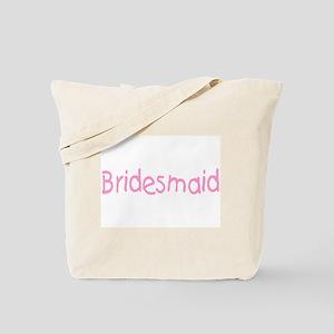 Bridesmaid (Pink) Tote Bag