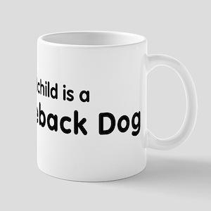 Thai Ridgeback Dog grandchild Mug