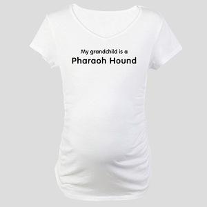 Pharaoh Hound grandchild Maternity T-Shirt