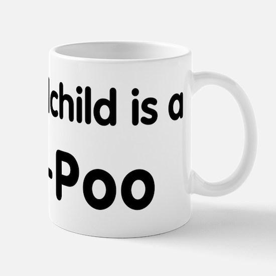 Shih-Poo grandchild Mug