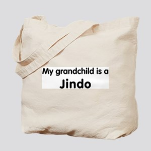 Jindo grandchild Tote Bag