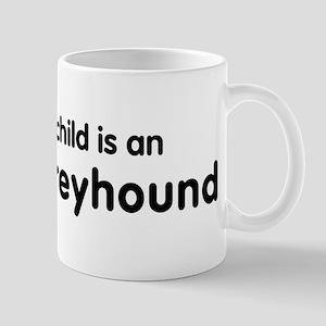 Italian Greyhound grandchild Mug