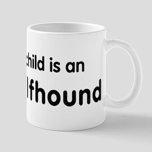 Irish Wolfhound grandchild Mug