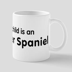 Irish Water Spaniel grandchil Mug