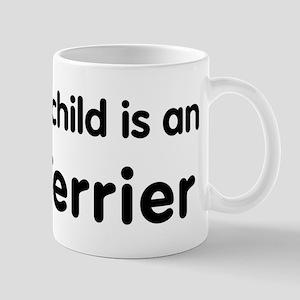 Irish Terrier grandchild Mug