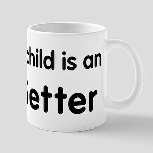 Irish Setter grandchild Mug