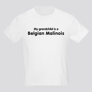 Belgian Malinois grandchild Kids Light T-Shirt