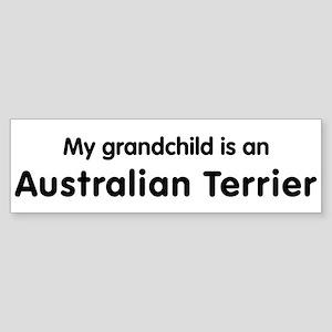 Australian Terrier grandchild Bumper Sticker