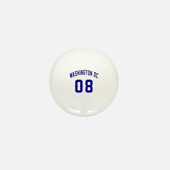 Washington Dc 08 Mini Button