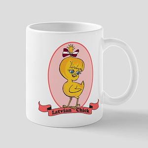 Latvian Chick Mug