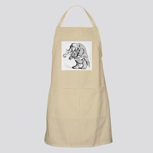 Elephant with Tail Coat BBQ Apron