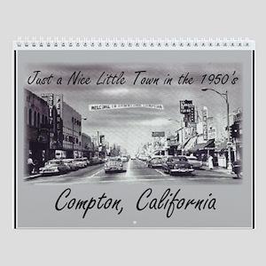 Compton 50's Wall Calendar