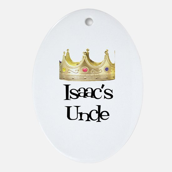Isaac's Uncle Oval Ornament