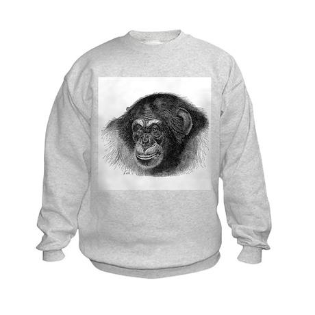 Chimpanze Kids Sweatshirt