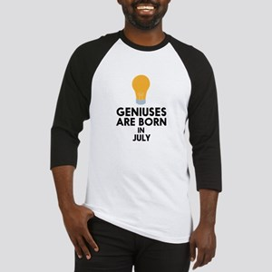 Geniuses are born in JULY C8erf Baseball Jersey
