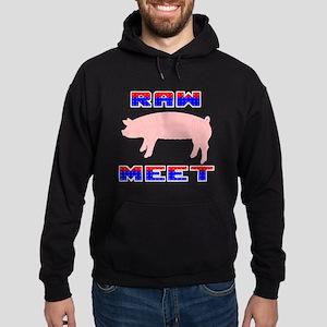 Raw Meet Hoodie (dark)