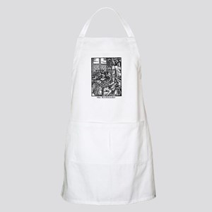 the Bookbinder BBQ Apron