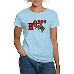Vintage Rodeo Bronc Rider Women's Light T-Shirt