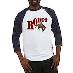 Vintage Rodeo Bronc Rider Baseball Jersey