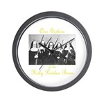 Our Sisters of the Holy Powder Burn Wall Clock