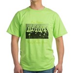 Our Sisters of the Holy Powder Burn Green T-Shirt