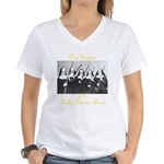 Our Sisters of the Holy Powder Burn Women's V-Neck