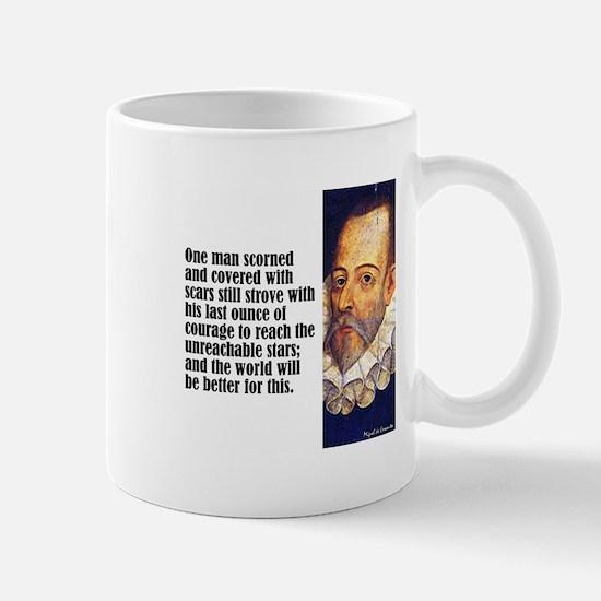 """Cervantes """"One Man"""" Mug"""