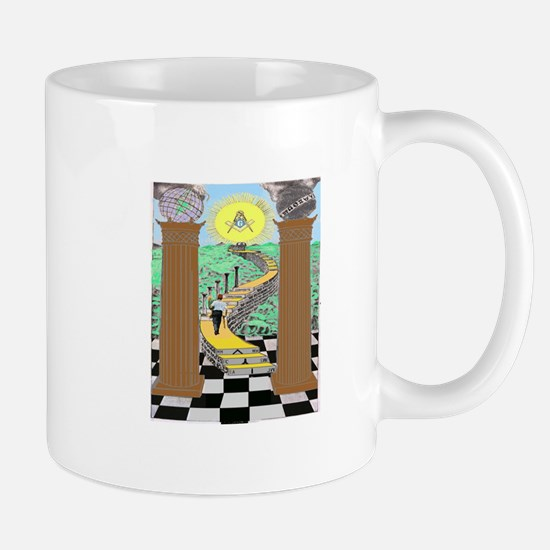 Shriner and Child Mug