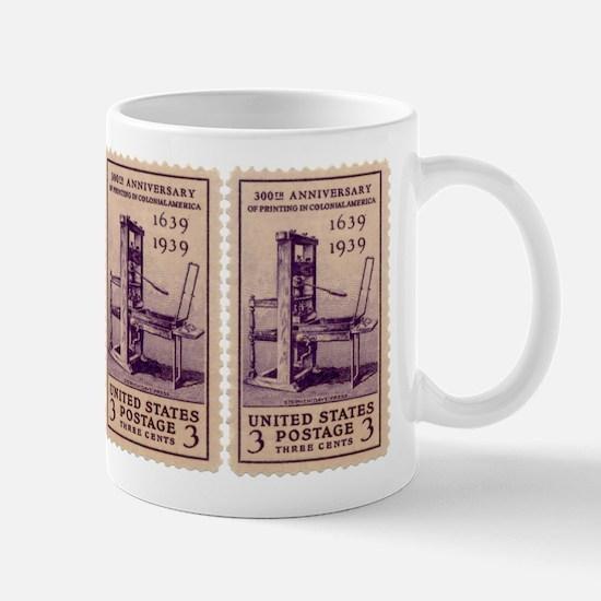 Printing Press Mug
