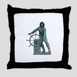 Fisherman's Memorial Throw Pillow