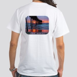 OBX Sunrise White T-Shirt