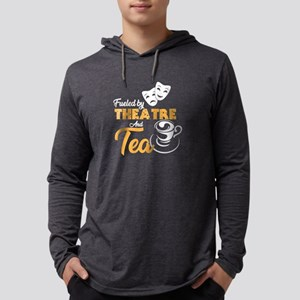Fueled by Theatre and Tea, Tea Long Sleeve T-Shirt