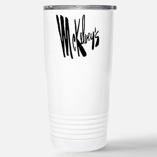 McKelvey's Stainless Steel Travel Mug