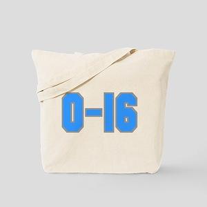 Detroit: 0-16 Tote Bag