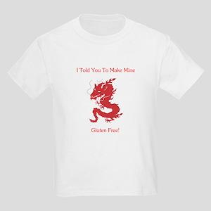 Gluten Free Dragon Kids Light T-Shirt