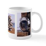 Cement Mixer construction truck art - Mug