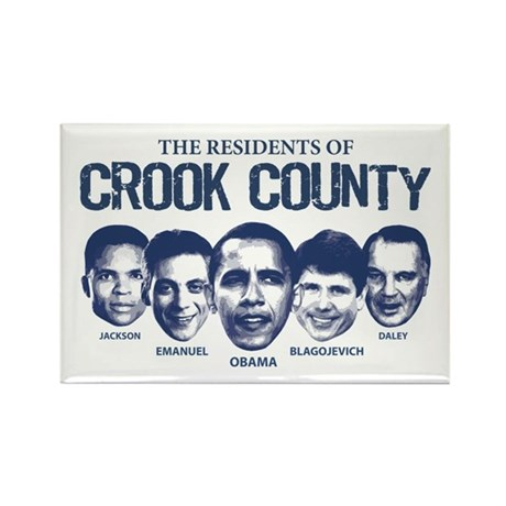 Residents of Crook County Rectangle Magnet