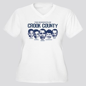 Residents of Crook County Women's Plus Size V-Neck