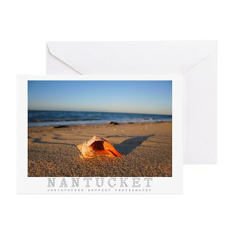 Nantucket Island Sunset Greeting Cards (Pk of 10)