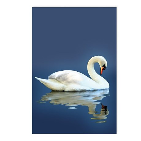 Swan Reflects Postcards (Package of 8)