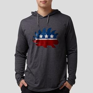 Libertarian Porcupine Long Sleeve T-Shirt