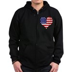The Ultimate Shirt Zip Hoodie (dark)