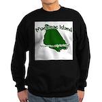 Mackinac Island - It's Never Sweatshirt (dark)