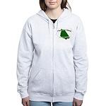 Mackinac Island - It's Never Women's Zip Hoodie