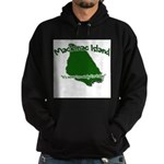 Mackinac Island - It's Never Hoodie (dark)