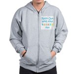 Rock Out With Your Blocks Out Zip Hoodie