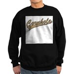 Cornhole Script Sweatshirt (dark)