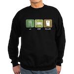 Eat Sleep Cornhole Sweatshirt (dark)