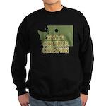 Washington State Cornhole Cha Sweatshirt (dark)