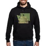Washington State Cornhole Cha Hoodie (dark)